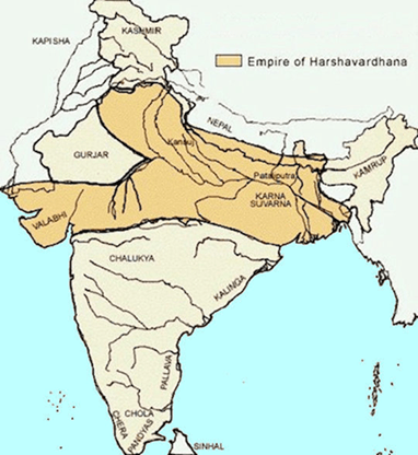 Image of Empire of Harshavardhana