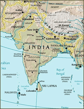 Bharatvarsha and its Geographical Feature