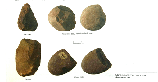 Image of Lower Palaeolithic tools