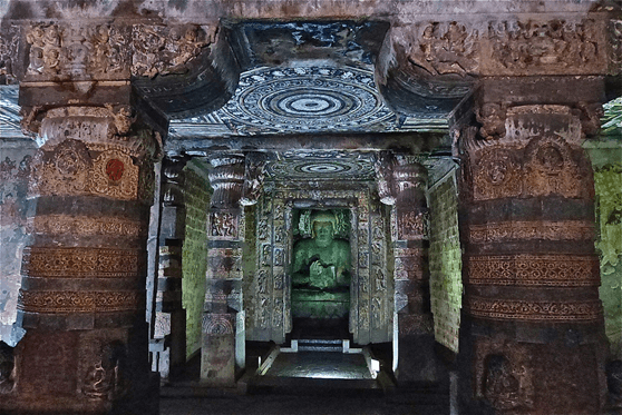 Image of 2nd phase of Ajanta Caves