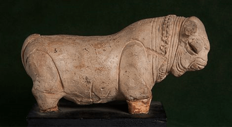 Image of Bull from Mohenjo-Daro