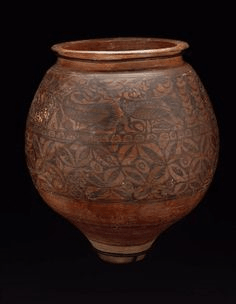 Painted Earthen Jar founded in Mohenjo daro
