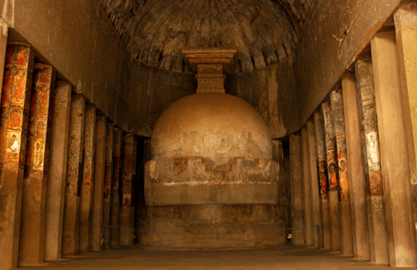 Image of Chaityas of Ajanta Caves
