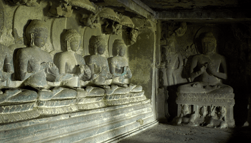 Image of Buddhist cave