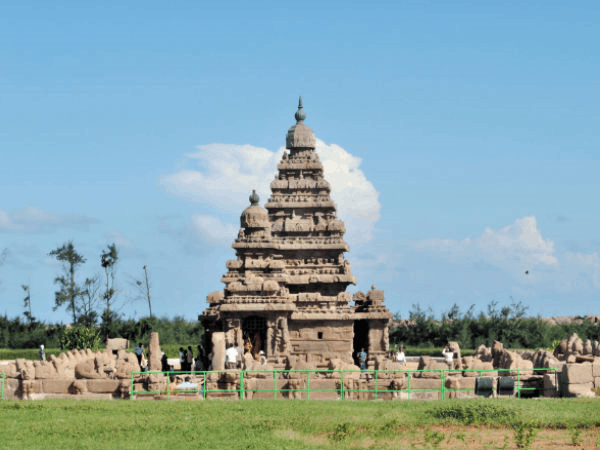 Image of shore temple, Mahabalipuram
