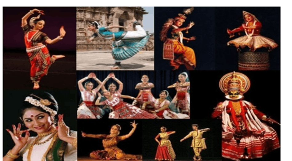 Image of Indian States and Folk Dances