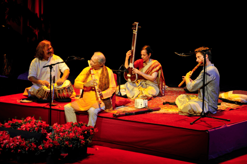 Indian music demonstration