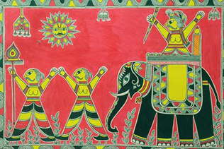 Image of Manjusha paintings