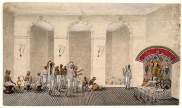 Image of Patna Qulam paintings