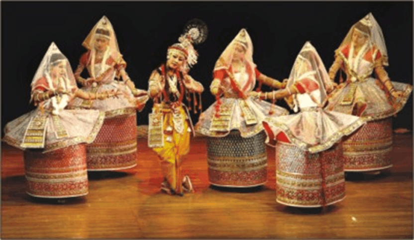 Image of Manipuri Dance Form