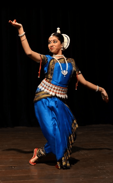 Image of odissi dance form