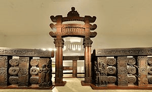 Image of East Gateway and Railings Bharhut Stupa