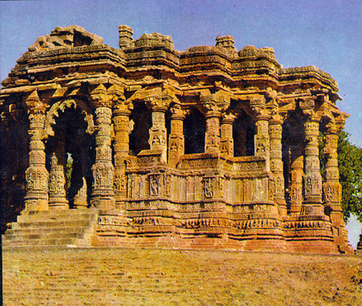 Image of Temples in north-western
