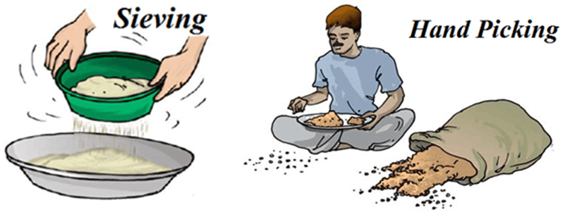 Image of Sieving And Hand Picking