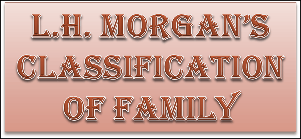 Image of L.H. Morgan's classification of family