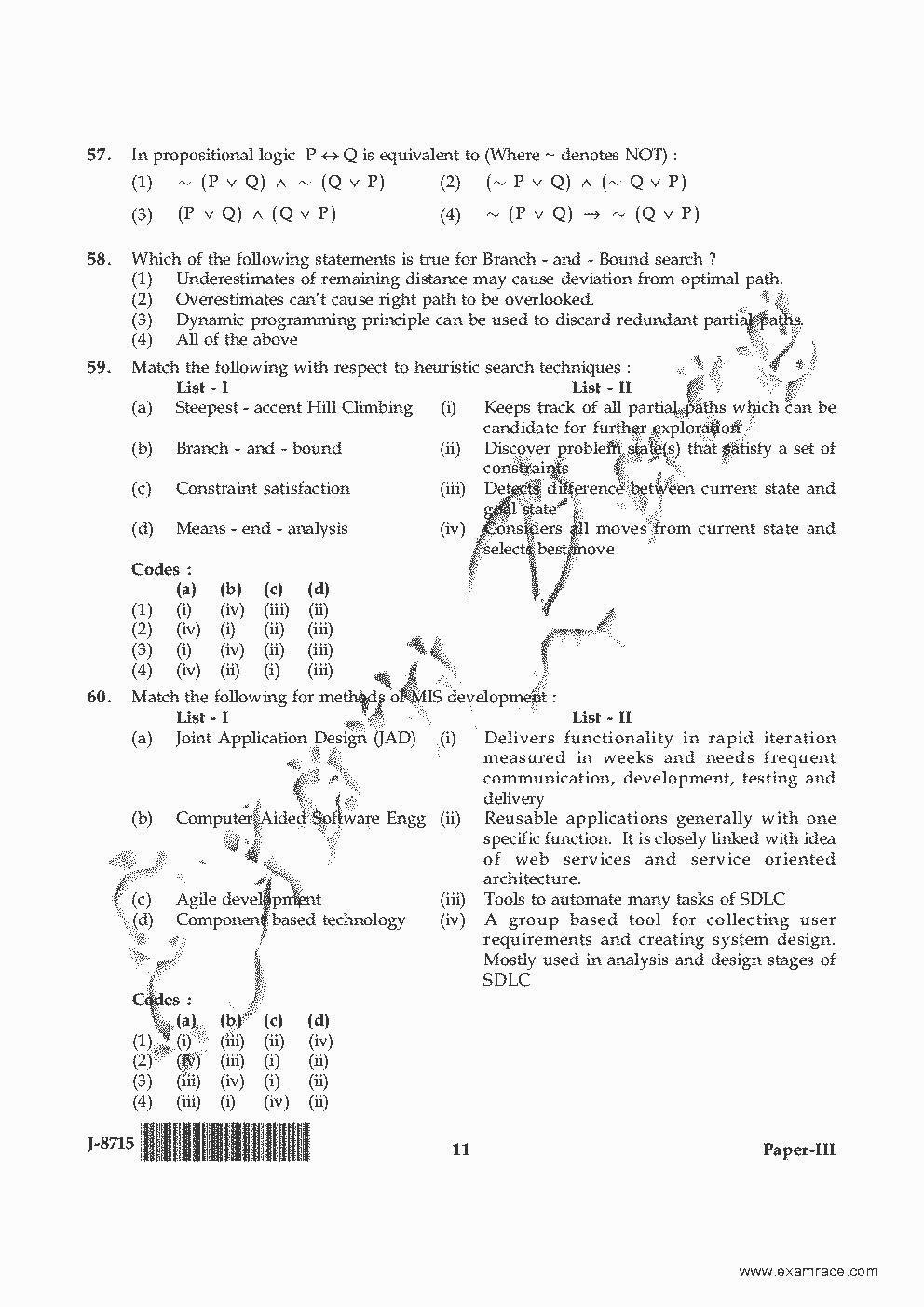 Net Exam Syllabus For Computer Science 2014 Pdf