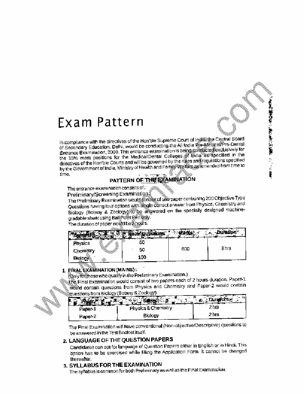 Aipmt Study Material Pdf In Hindi