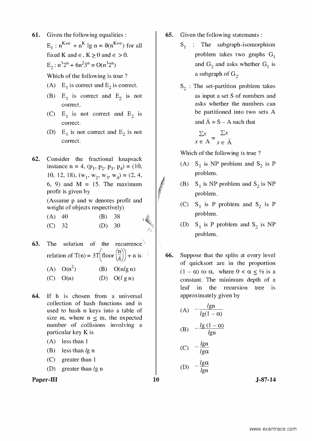 Science ugc 2015 syllabus computer pdf net