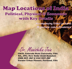 Examrace IAS Map Locations of India: Political, Economic & Physical with Key Details (Postal Course)