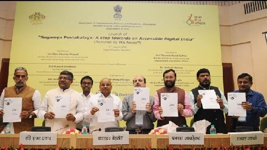 Image of launches Sugamya Pustakalaya E-Library