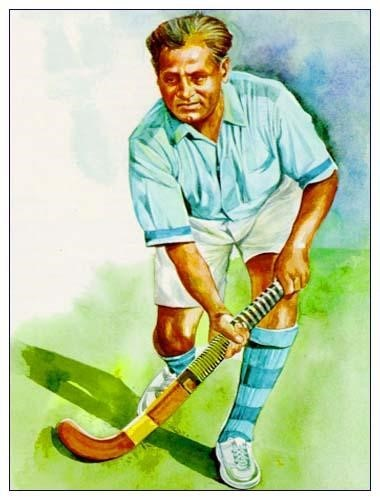 Hockey player Dhyan Chand