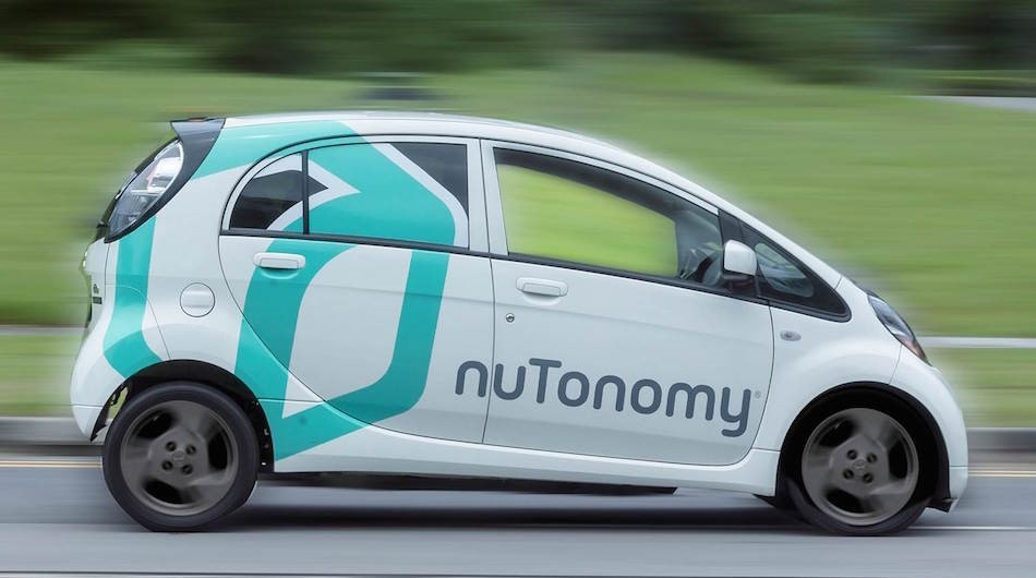Image nuTonomy self-driving taxis