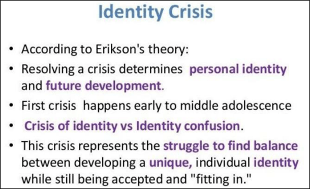 Image of the Identity Crisis