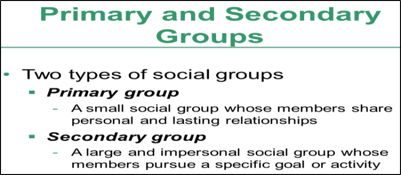 The Types of groups