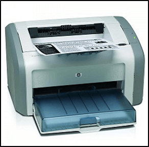 Image of the Laser printer