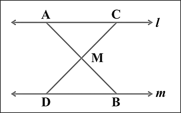 Mid-point of a line segment AB