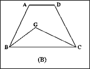 find two polygons on the same base Choice-B