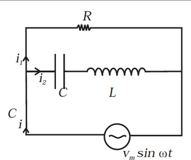 Iamge Consider the LCR circuit shown in Figure