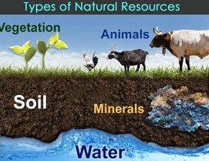 Image Types of natural resources