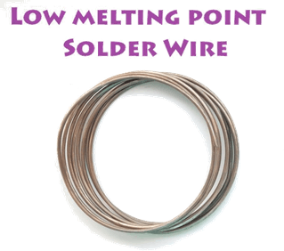 Image low melting point solder wire