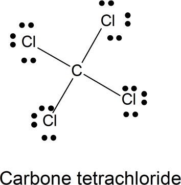 Image structure of carbon tetrachloride (CCl 4)