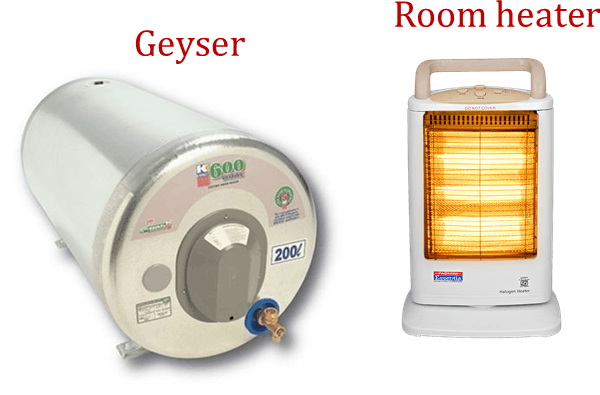 Image of Geyser, Roomheater
