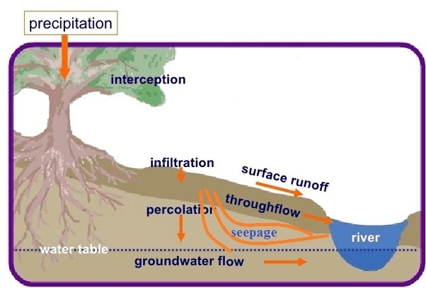 Image of what is infiltration.