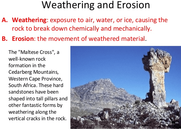 Image of Weathering and Erosion