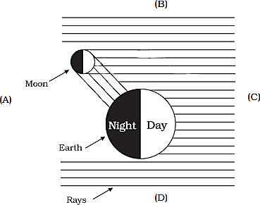 As showing in fig is a position of the sun (Q)