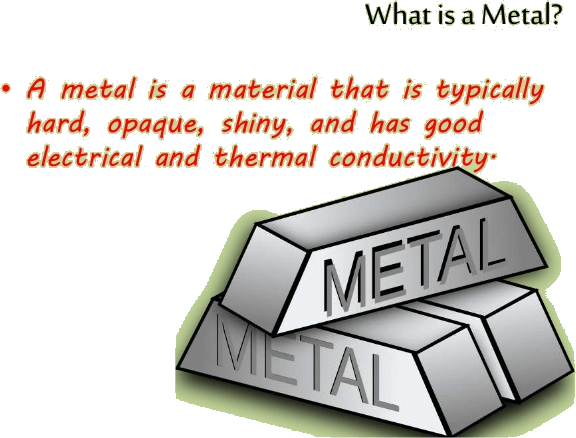 Image of what is metal