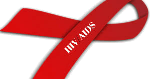 Image the symbol of HIV/AIDS