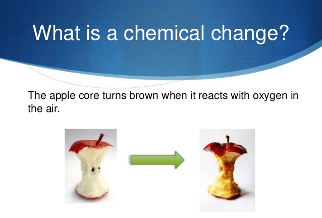 image of chemical changes
