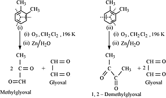 Q 17 Ans 1 Structure of O-Xylene has teo Resonance