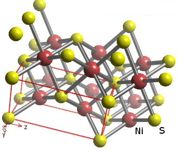 Q 6 B Crystal Structure of Nickel Sulphide