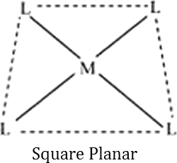 Q 3 (A) Square Planar Of Coordination Polyhedron.