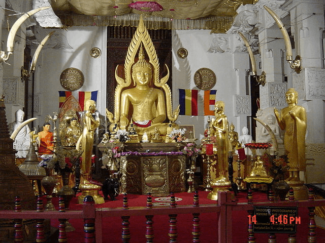 Image of Buddha For The Sermon At Benares