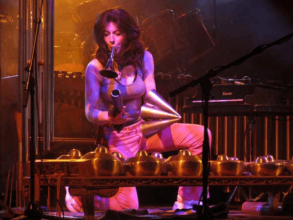 Evelyn Glennie performing at Moers Festival 2004