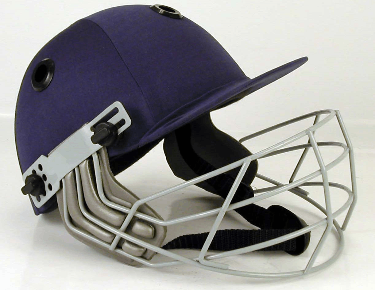Metal and synthetic lightweight materials helmet