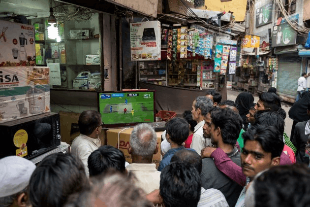 television a key technology behing popularity of cricket