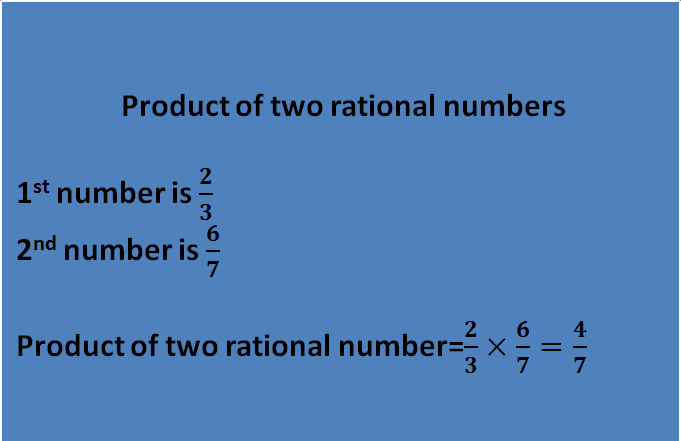 Given the 2 rational numbers and solve the product of 2 rational number is always a rational numbers